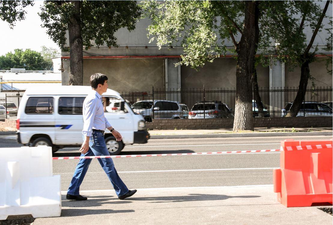 Аким Алматы проверил реконструкцию дорог в рамках Vision Zero