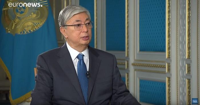 Касым-Жомарт Токаев рассказал о митингах в Казахстане в интервью Euronews