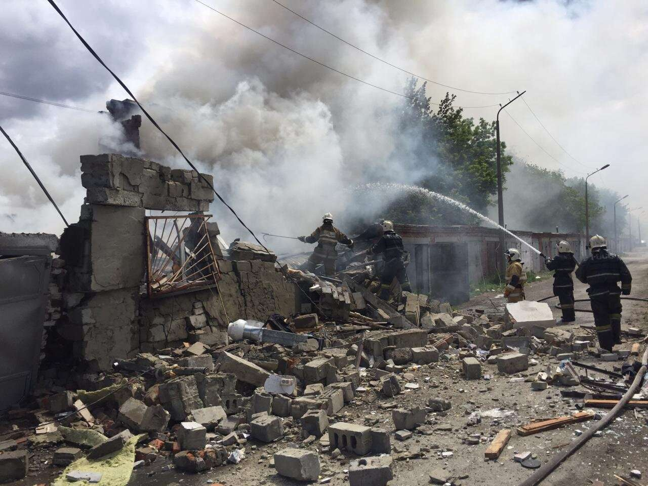 Двое пострадавших при взрыве в Костанае в тяжелом состоянии