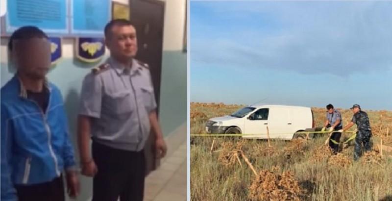 Убийство инкассаторов в Арыси: подозреваемый планировал рассчитаться с долгами