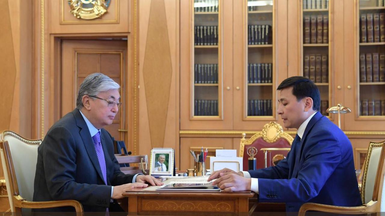 Касым-Жомарт Токаев поручил акиму столицы изучить вопросы LRT