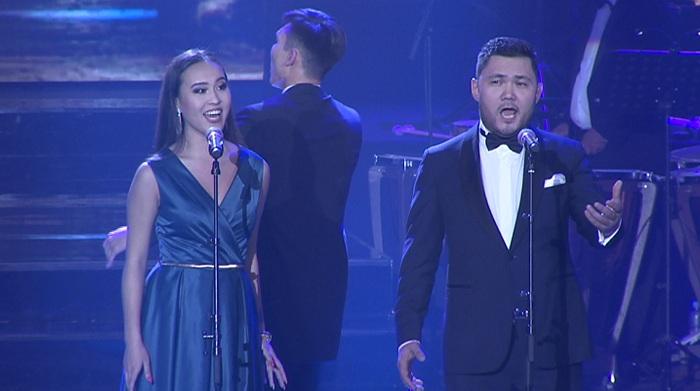В необычном формате прошел концерт лауреатов премии фонда Первого Президента в Алматы