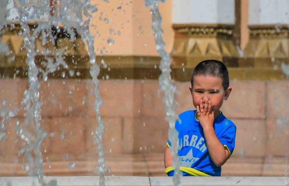 Сильную жару в июле пообещал Казгидромет в Алматы