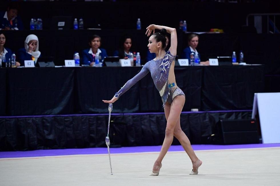 Пять медалей завоевала на Чемпионате Азии спортсменка из Казахстана
