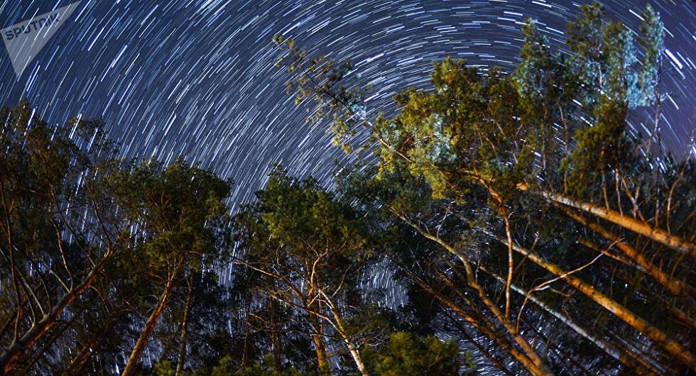 Необычный метеорный поток могут наблюдать казахстанцы в ночном небе
