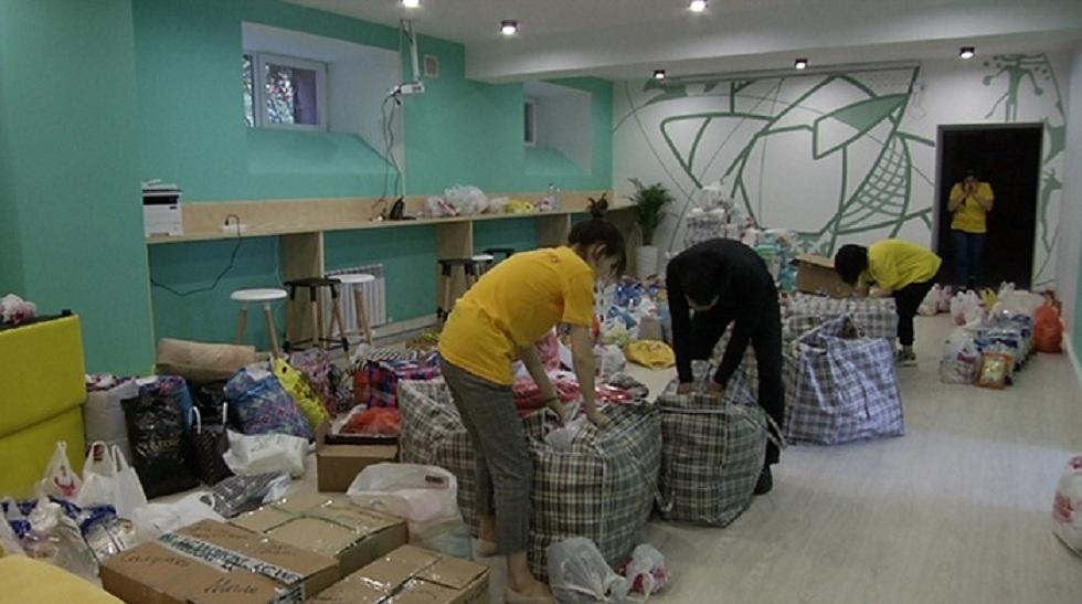 Жители Алматы присоединились к акции помощи пострадавшим в Арыси