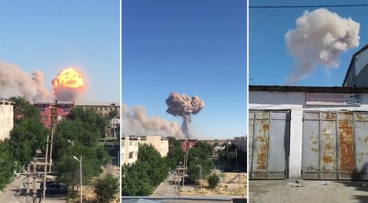 Взрывы в Арыси: стало известно о третьем погибшем