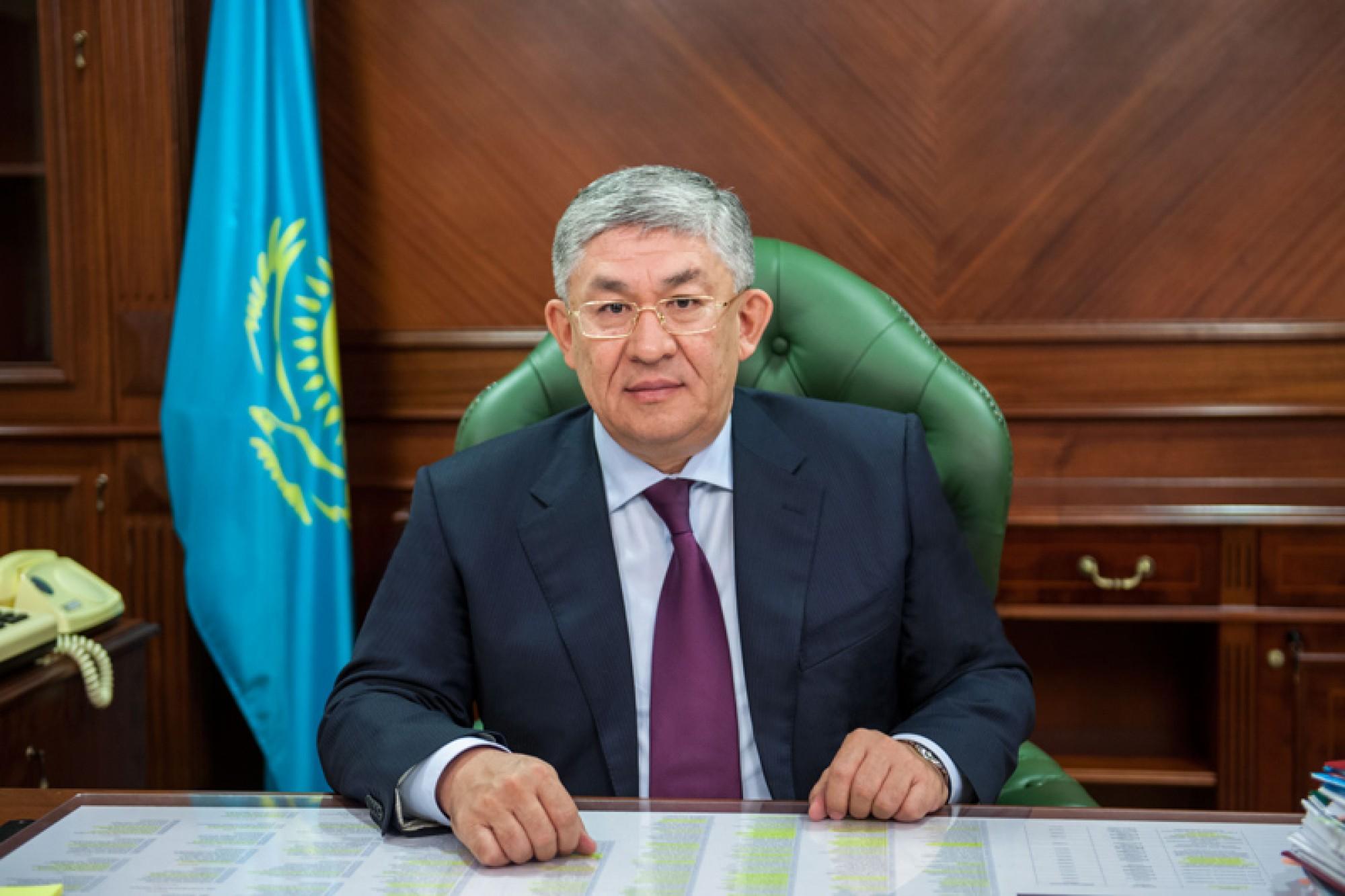 Руководителем Администрации Президента назначен Крымбек Кушербаев