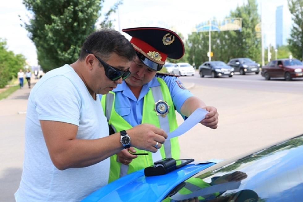 7 млн тенге с водителей-должников взыскали павлодарские полицейские за 3 дня