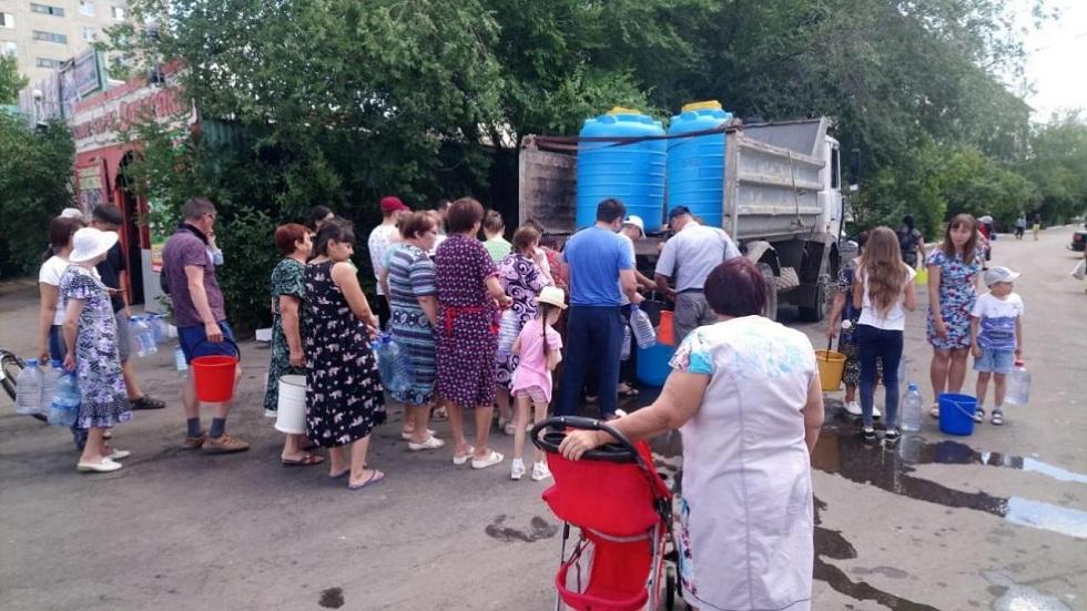 120 тыс. жителей Уральска остались без воды
