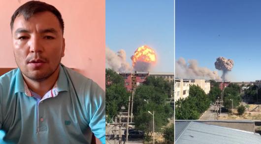 «Погибли сотни людей»: мужчина извинился за ложную информацию о взрыве в Арыси