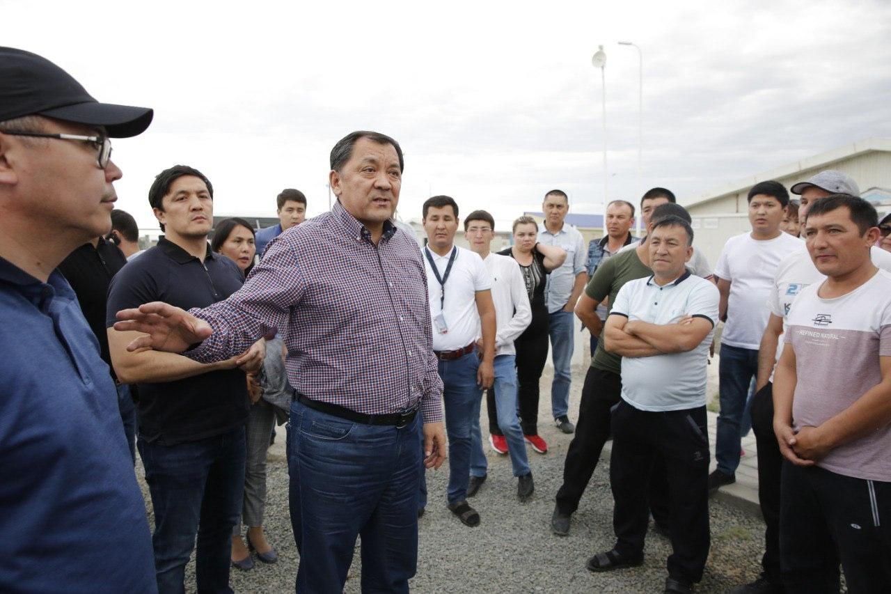 Аким Атырауской области высказался о беспорядках в Тенгизе
