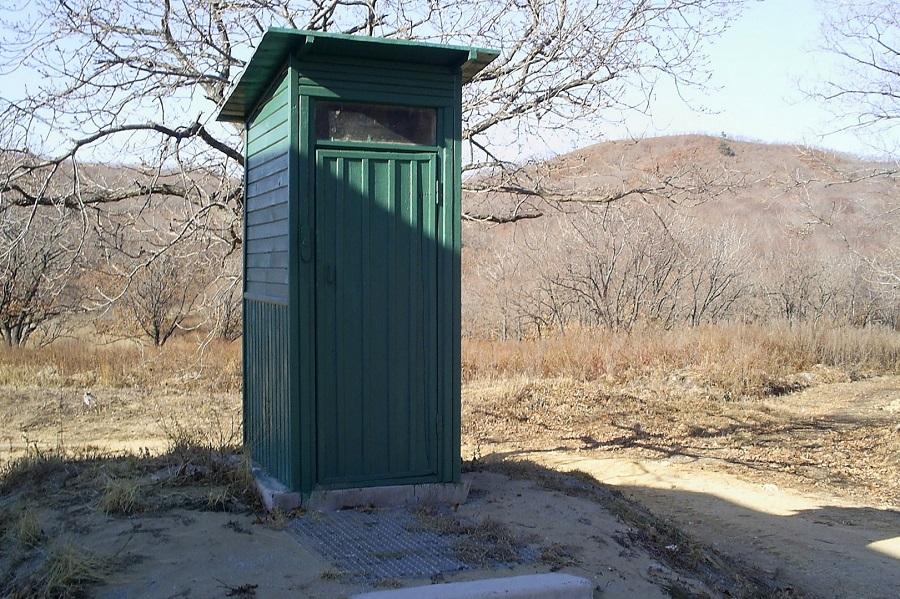 В Павлодаре двухлетняя девочка провалилась в уличный туалет