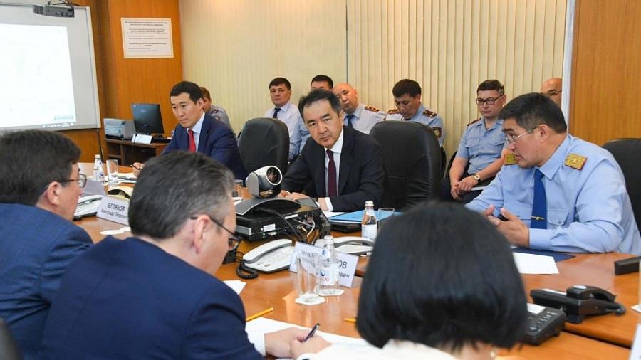 Бакытжан Сагинтаев пообещал бороться с преступностью в Алматы