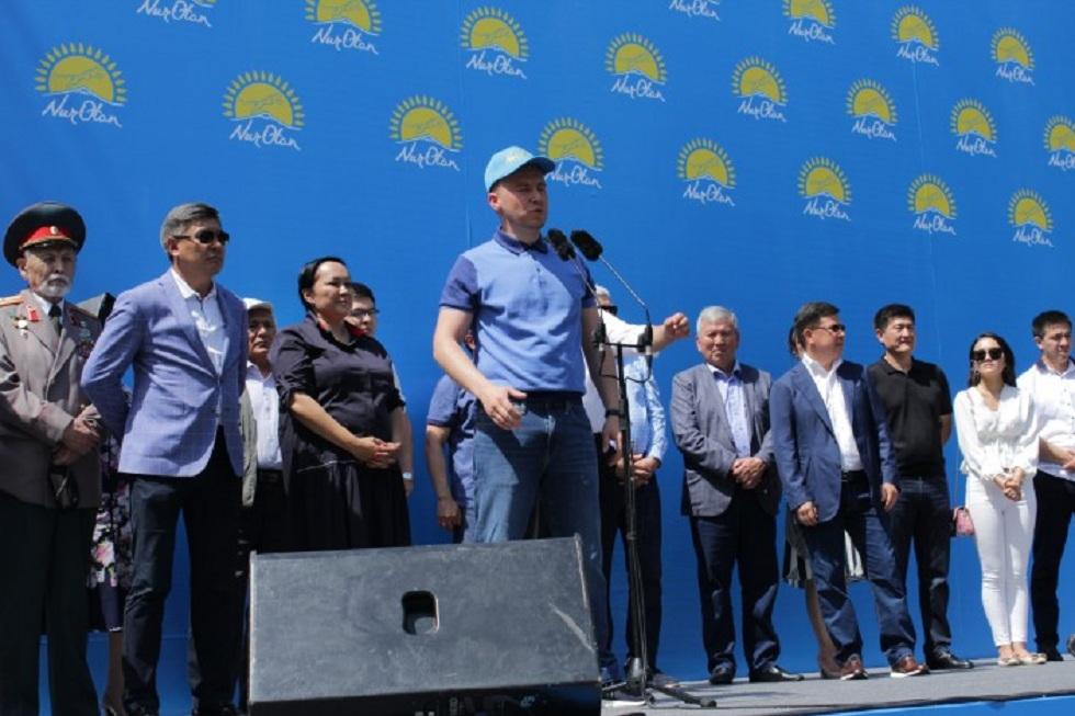 Митинг против провокаций в Алматы: о чем говорили участники