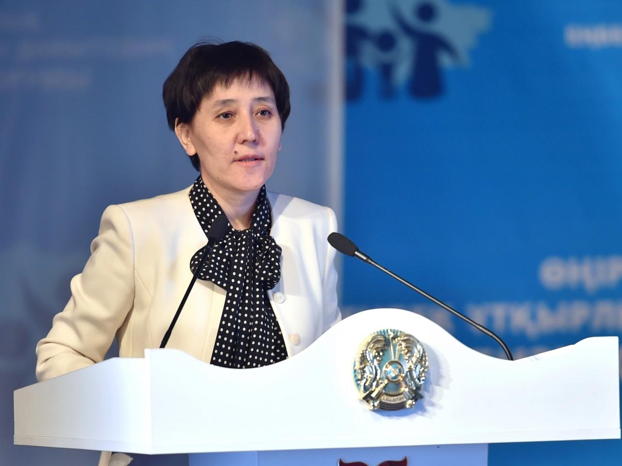 В связи с переходом на другую работу: Тамара Дуйсенова покинула пост