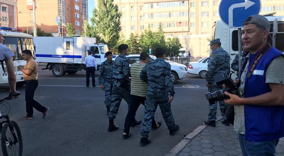 Более 100 человек задержали на несанкционированных митингах 6 июля