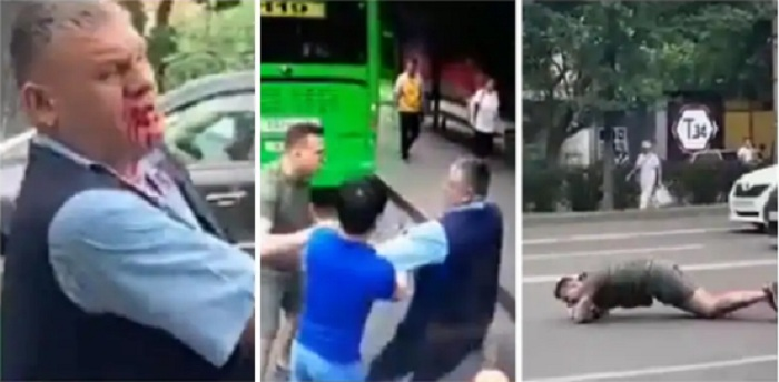 На затеявшего драку с водителем автобуса владельца самоката завели уголовное дело