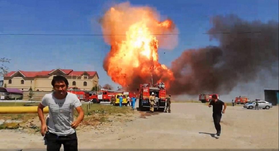 Причина взрыва на АЗС в Шымкенте названа