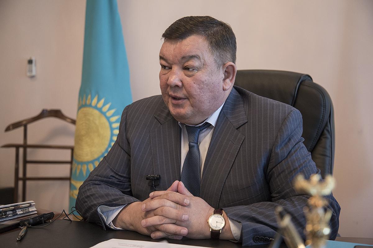 Багдат Манзоров назначен замакима Алматинской области