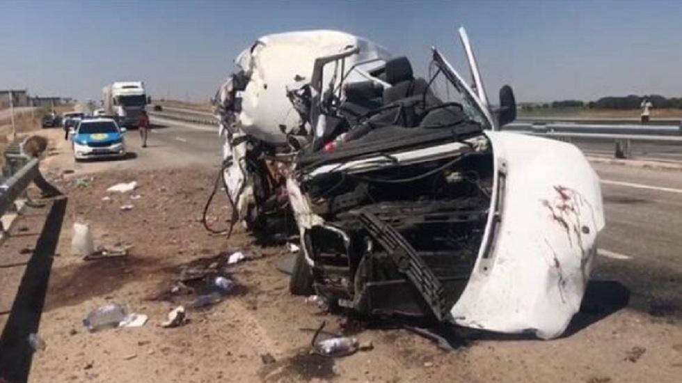 Смертельное ДТП в Туркестанской области: 5 человек погибли