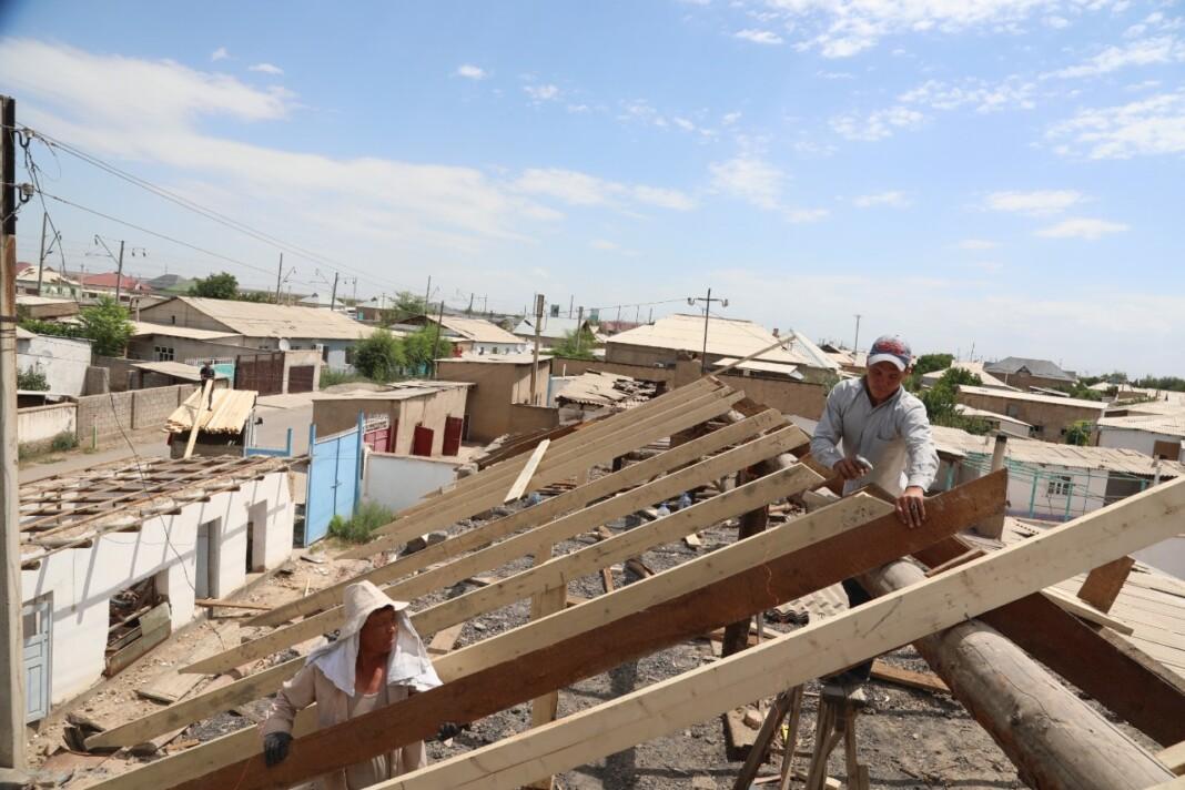 Более одной тысячи домов восстановлены в Арыси