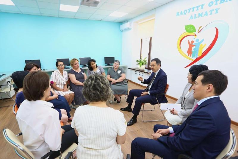 """Центры """"Бақытты отбасы"""" нужно открыть в каждом районе Алматы – Сагинтаев"""
