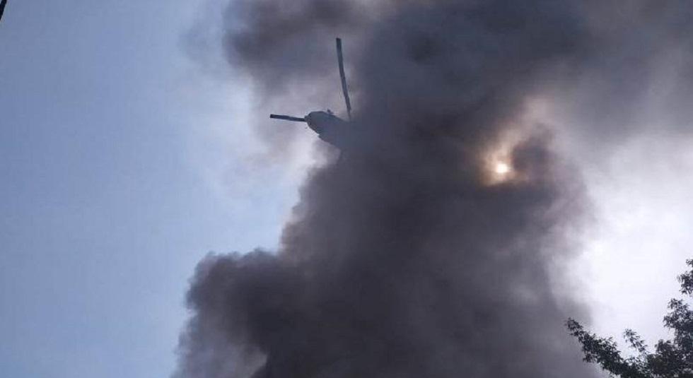 Пожар на складе красок в Алматы потушен