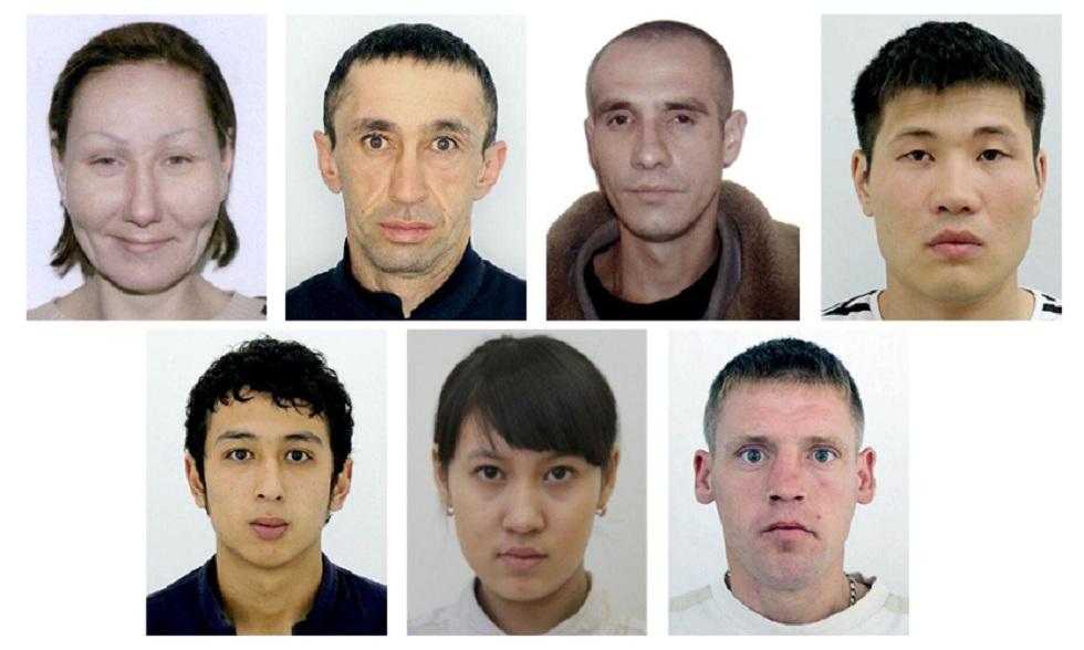 Фото карманных воров опубликовала полиция Алматы