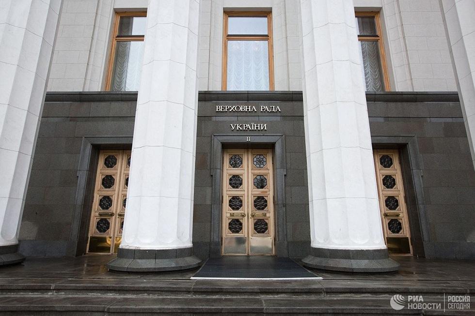 Партия президента Украины лидирует на выборах в парламент