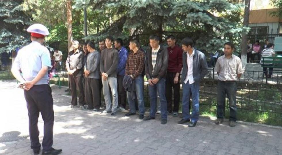 Около 800 иностранцев задержаны в Алматы за нарушение миграционного законодательства РК