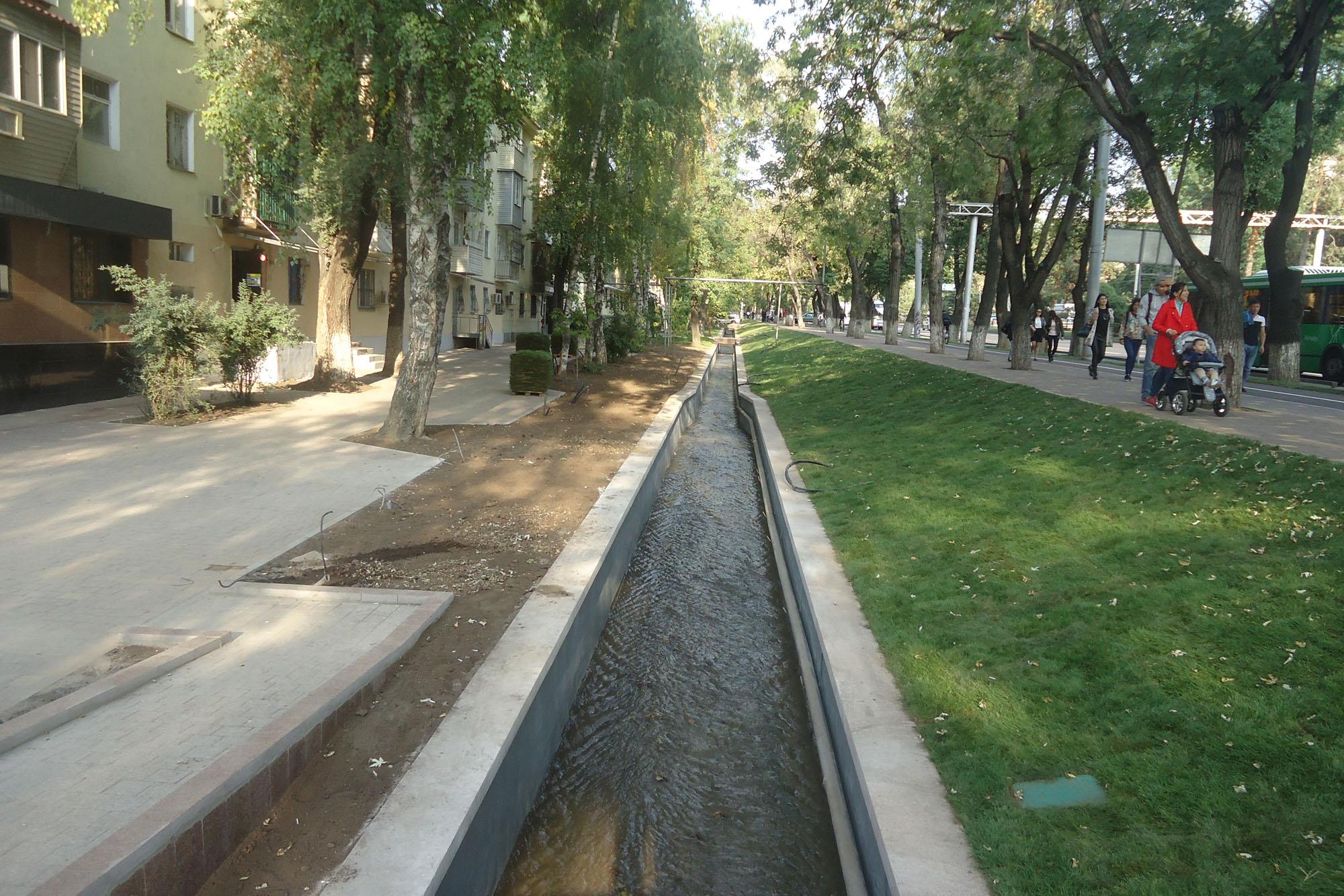 Около 350 километров арычной сети отремонтируют в Алматы