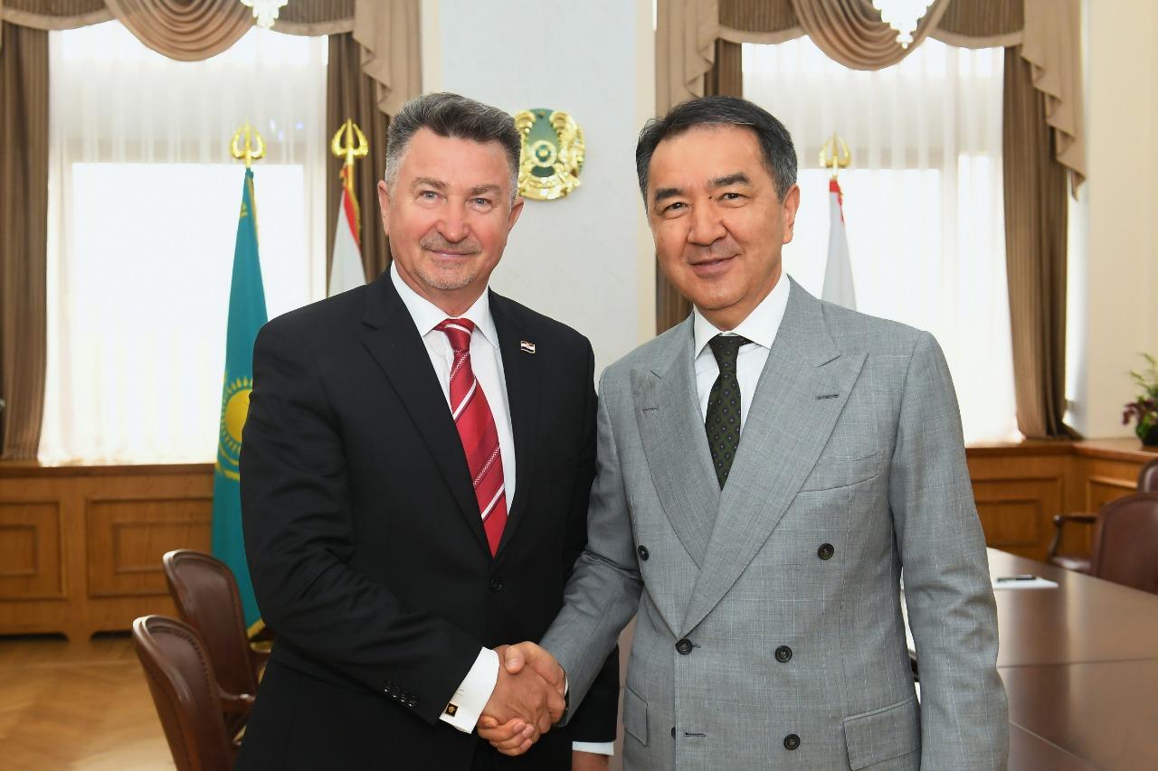 Алматы расширяет сотрудничество с Хорватией