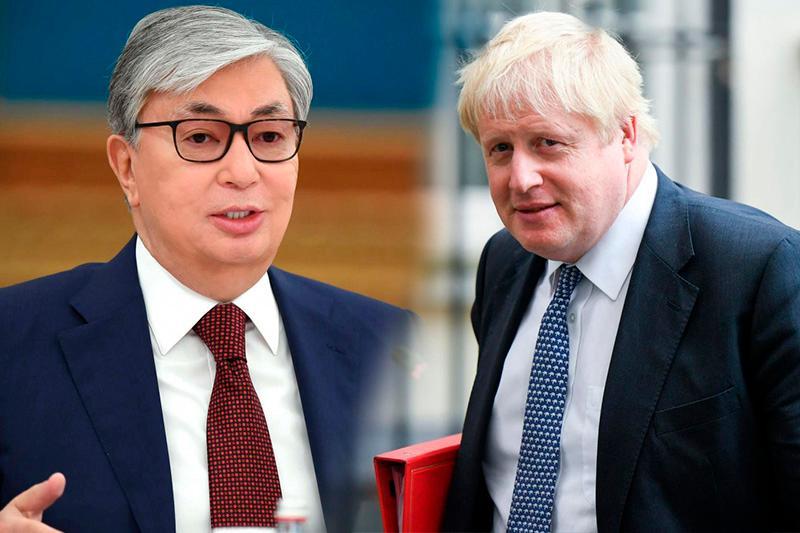 Токаев поздравил Джонсона с избранием на пост премьер-министра Великобритании