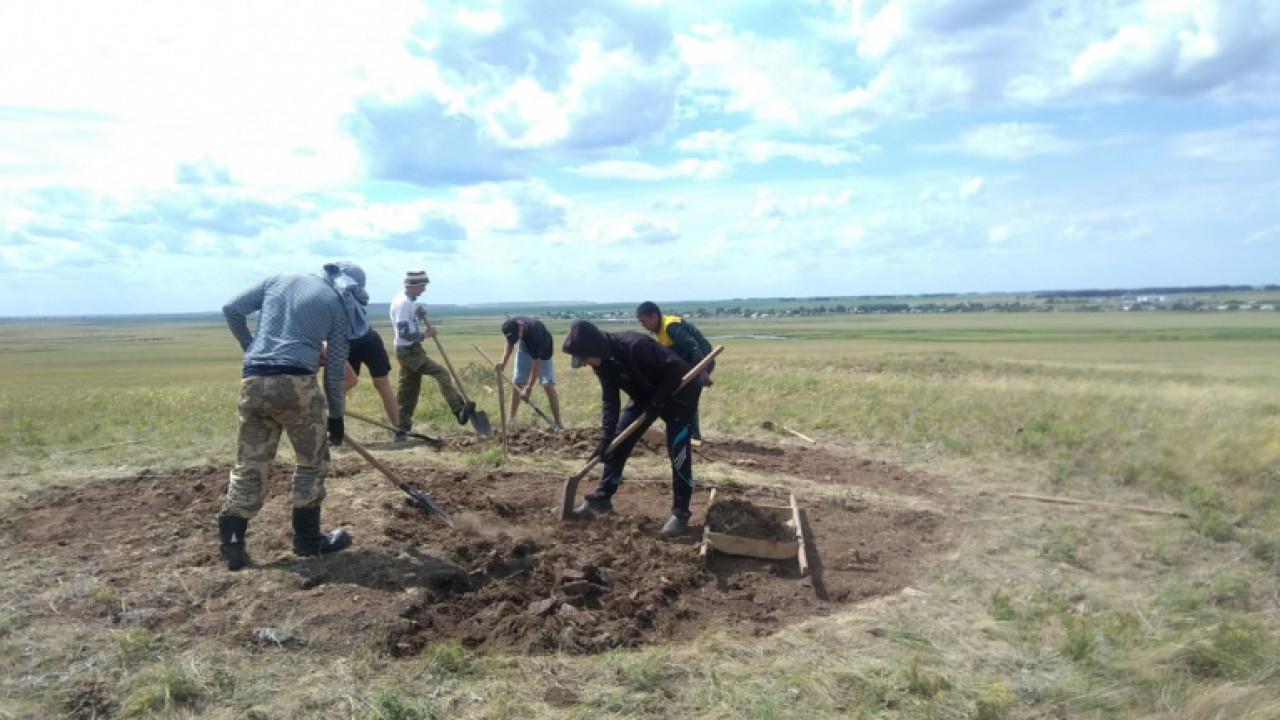 Захоронения воинов железного века обнаружены в Акмолинской области
