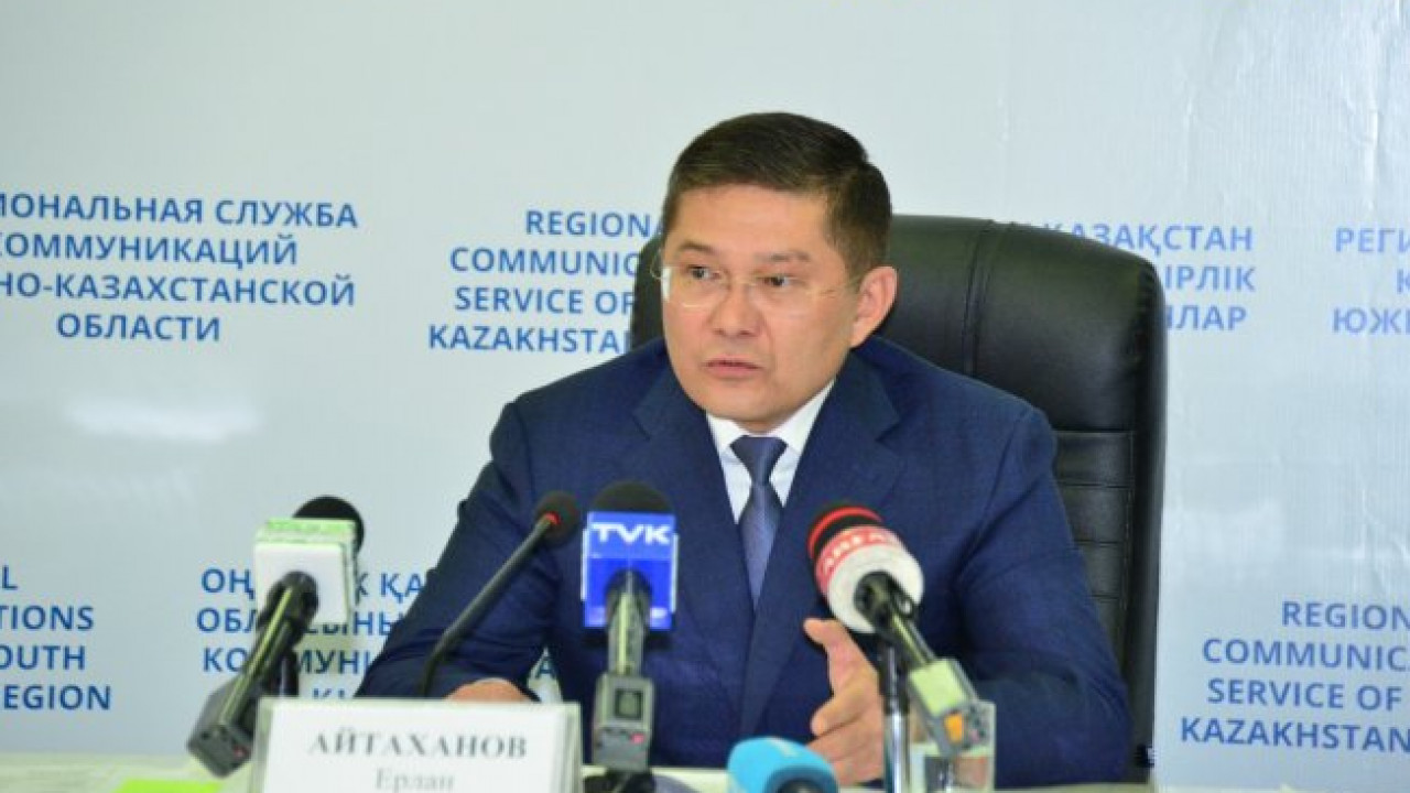 Ерлан Айтаханов стал новым акимом Шымкента