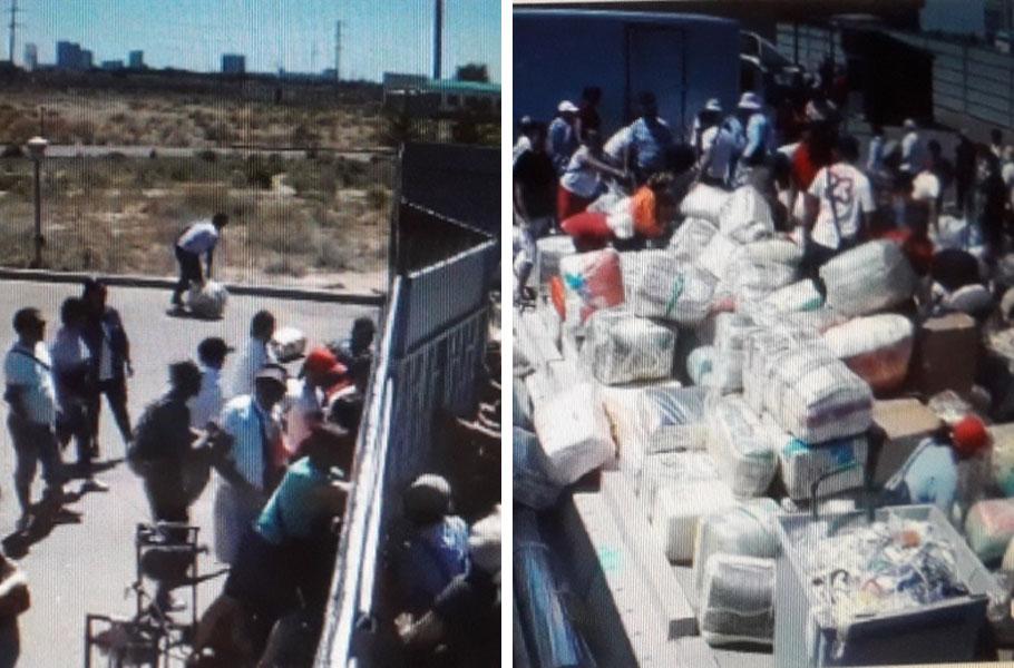 Участников разграбления склада на «Хоргосе» привлекли к ответственности