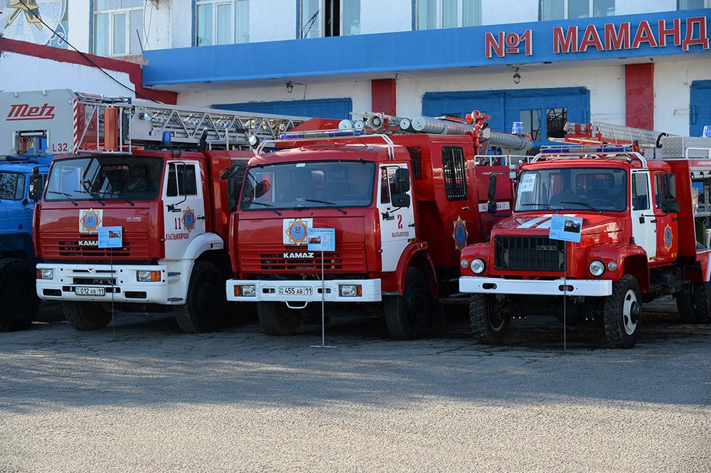 Пожарные депо построят в трех районах Алматы