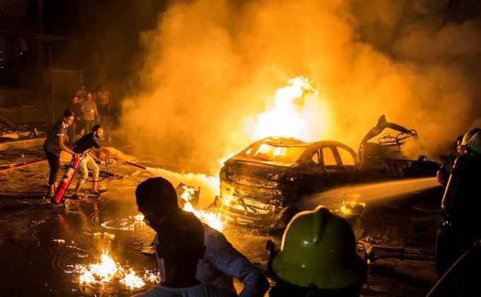 Президент Казахстана выразил соболезнования главе Египта в связи с взрывами