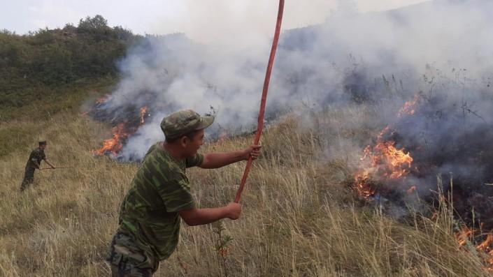 У погибшего ликвидатора степного пожара в Алматинской области осталось 5 детей