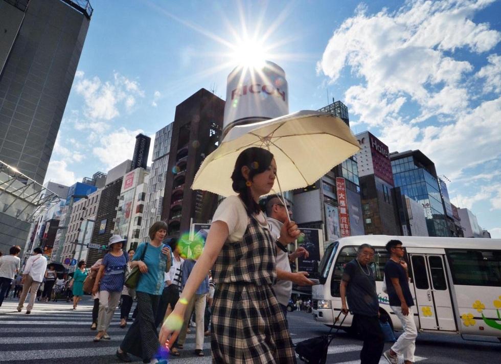 Жара в Японии убила более 50 человек
