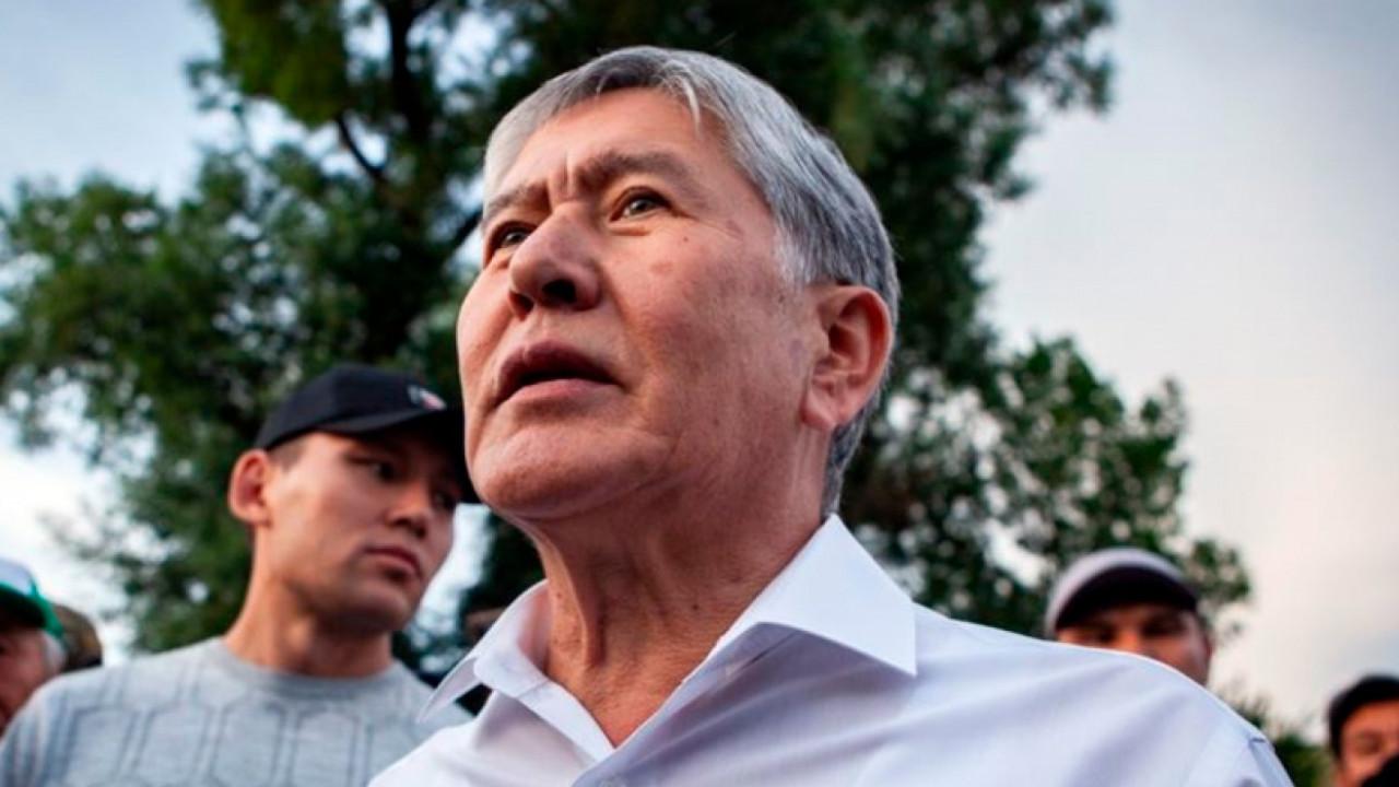 Алмазбек Атамбаев сдался властям