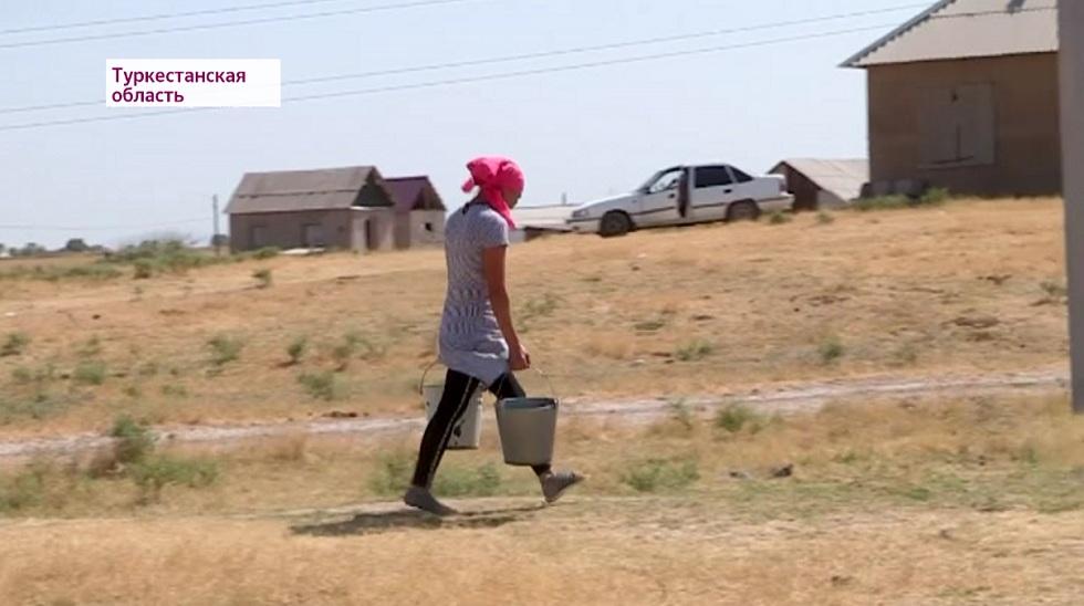 Без воды и газа живут свыше сотни семей Шымкента