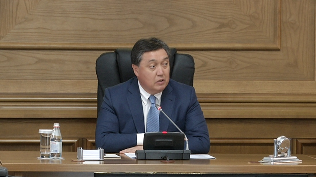 Контролировать развитие Алматы поручил Аскар Мамин