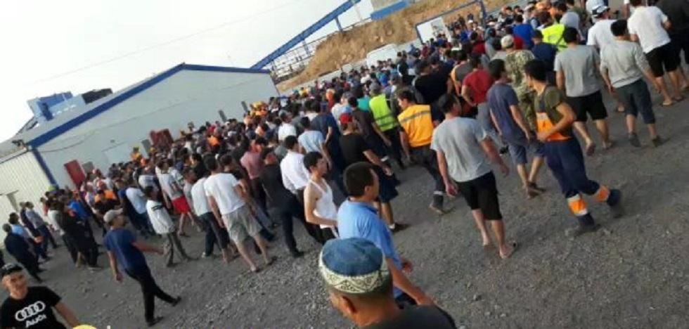 Конфликт урегулирован между иностранными и местными рабочими в Карагандинской области