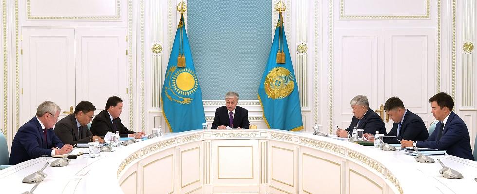Токаев провел совещание по экономическим вопросам