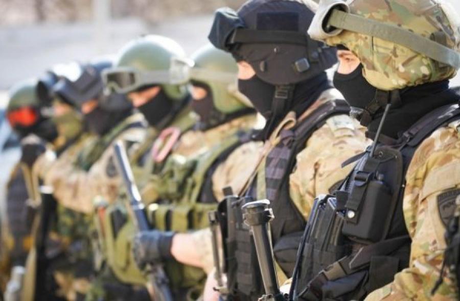 В Талдыкоргане проходят антитеррористические учения