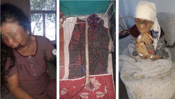 Жестоко избивший мачеху и ее мать мужчина задержан в Туркестанской области