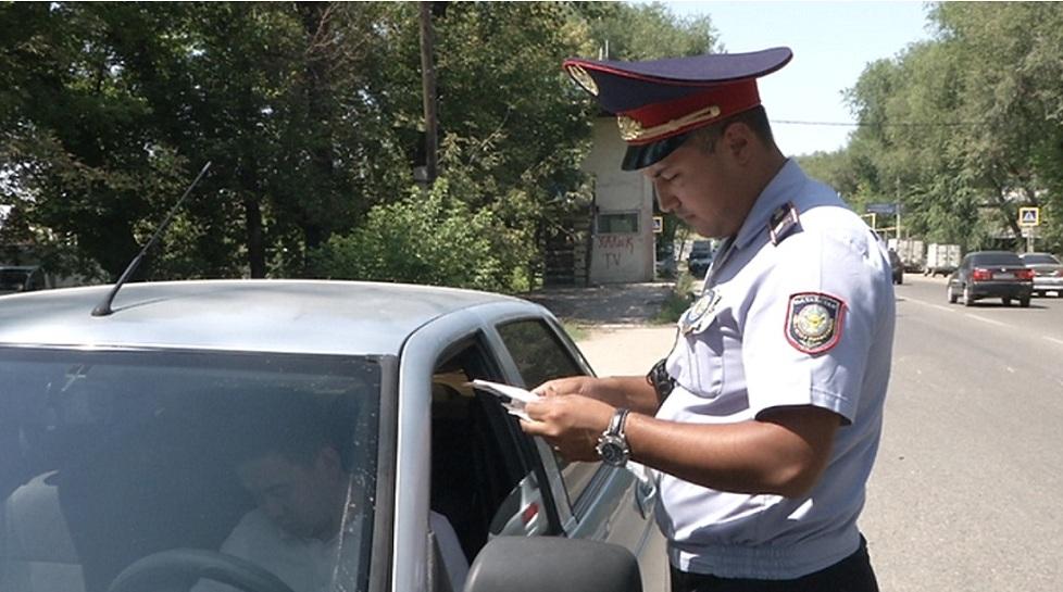 Злостных неплательщиков штрафов за нарушение ПДД вылавливают в Алматы
