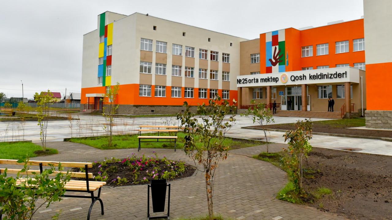 В СКО открылась современная казахская школа